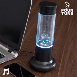 speaker effetto acqua led fountune