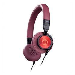cuffie con microfono hiditec whp010000 marrone