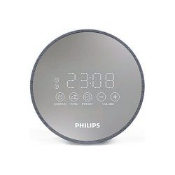 radio sveglia philips tadr402/12 fm grigio