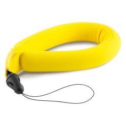 bracciale galleggiante per fotocamera sportiva neoprene giallo bigbuy sport