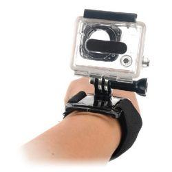 imbracatura da polso per fotocamera sportiva ksix nero bigbuy sport