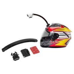 supporto selfie da casco per fotocamera sportiva ksix nero bigbuy sport