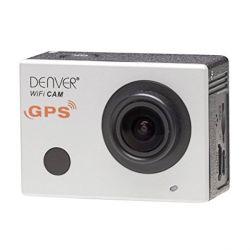 videocamera sportiva denver electronics acg-8050w 16 mpx full hd nero argentato