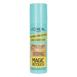 correttore per radici magic retouch l'oreal make up biondo chiaro 75 ml