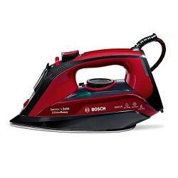 ferro da stiro a vapore bosch tda503001p 0,3 l 3000w rosso nero