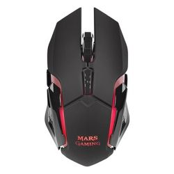 mouse gaming con led mars gaming mmw 3200 dpi nero