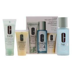 cofanetto cosmetici donna 3 steps intro skin type iv clinique 3 pz 100 ml