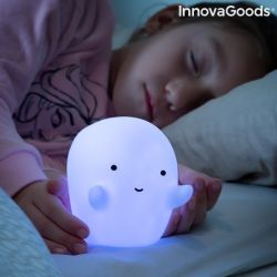 lampada fantasma led multicolor glowy innovagoods