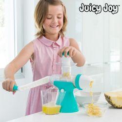 macchina per succhi di frutta e gelati con manovella juicy joy innovagoods