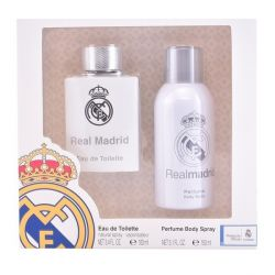 cofanetto profumo uomo real madrid sporting brands 2 pz 100 ml