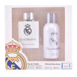 cofanetto profumo uomo real madrid sporting brands 2 pz 2 pz 100 ml