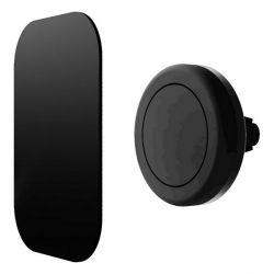 supporto magnetico da auto per cellulari contact nero bigbuy tech