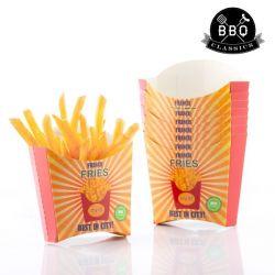 set di scatole per patatine fritte bbq classics pacco da 8