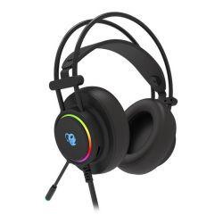 auricolari con microfono gaming coolbox dg-aur-01 nero
