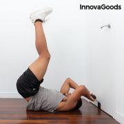 barra di supporto da porta per addominali con manuale per gli esercizi innovagoods