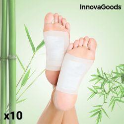 cerotti disintossicanti per i piedi innovagoods pacco da 10