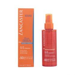 olio abbronzante sun beauty dry touch lancaster spf 50 150 ml