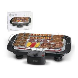 piastra grill kiwi kg-5801 2000w 38 x 22 cm nero