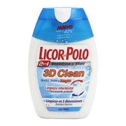 dentifricio 3d clean licor del polo 75 ml
