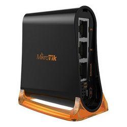 punto d'accesso mikrotik rb931-2nd 2 ghz 650 mhz nero