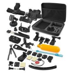 accessori per fotocamera sportiva 38 pz bigbuy tech