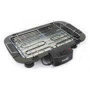 barbecue elettrico basic home 2000w nero 52 x 52 x 38 cm