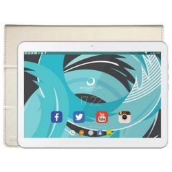 "tablet con custodia brigmton btpc-1021b-btac-108b 10,1"" quad core 1gb ram 16gb bianco"