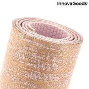 tappetino di yoga in juta jumat innovagoods