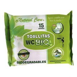 salviettine biodegradabili wc 15 pz bigbuy kids