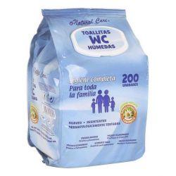 salviettine umidificate wc 200 pz bigbuy kids