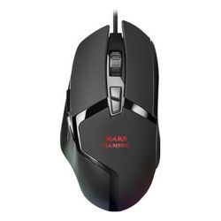 mouse gaming con led mars gaming mmgx rgb 10000 dpi 60 ips nero