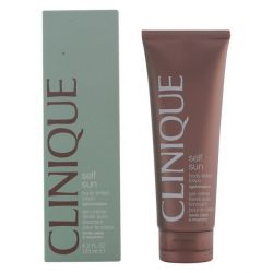 autoabbronzante sun body tinted light clinique 125 ml