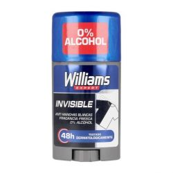 deodorante stick invisible williams 75 ml