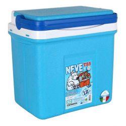 frigo portatile 25 l azzurro 38 x 26 x 39 cm bigbuy outdoor