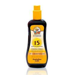 olio abbronzante sunscreen hydrating australian gold spf 15 237 ml