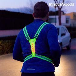 imbracatura catarifrangente con led per sportivi innovagoods