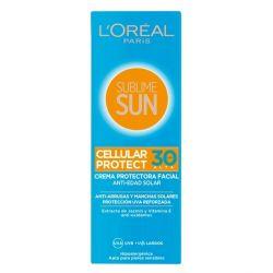 crema solare sublime sun l'oreal make up spf 30 75 ml