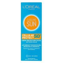 crema solare sublime sun l'oreal make up spf 50 75 ml