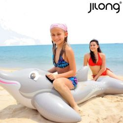materassino gonfiabile dolphin rider jilong 18736 152 x 90 cm