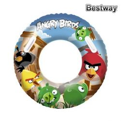 salvagente gonfiabile angry birds bestway 112692