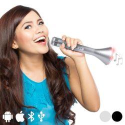 altoparlante bluetooh portatile con microfono 3w 145323 bigbuy tech