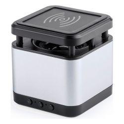 altoparlante bluetooth con caricabatterie wireless 3w usb 146146 bigbuy tech