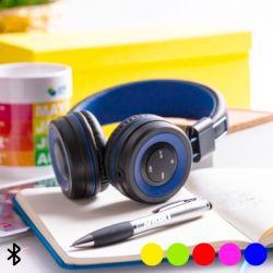 auricolari bluetooth con vivavoce e pannello di controllo integrato 145562 bigbuy tech