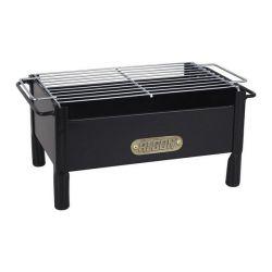 barbecue portatile algon ferro nero