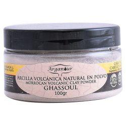 maschera all'argilla per viso e capelli ghassoul arganour 100 g