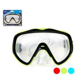 maschera da immersione adulti pvc bigbuy outdoor