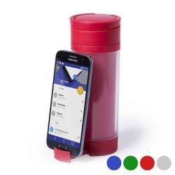 borraccia in polipropilene con supporto per cellulare 390 ml 145498 bigbuy outdoor