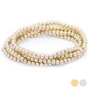 bracciale donna con cristalli 144816 bigbuy accessories