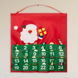 calendario dell'avvento 144667 bigbuy christmas