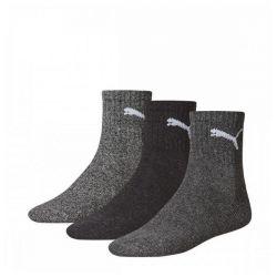 calzini sportivi puma short crew 3 perechi grigio